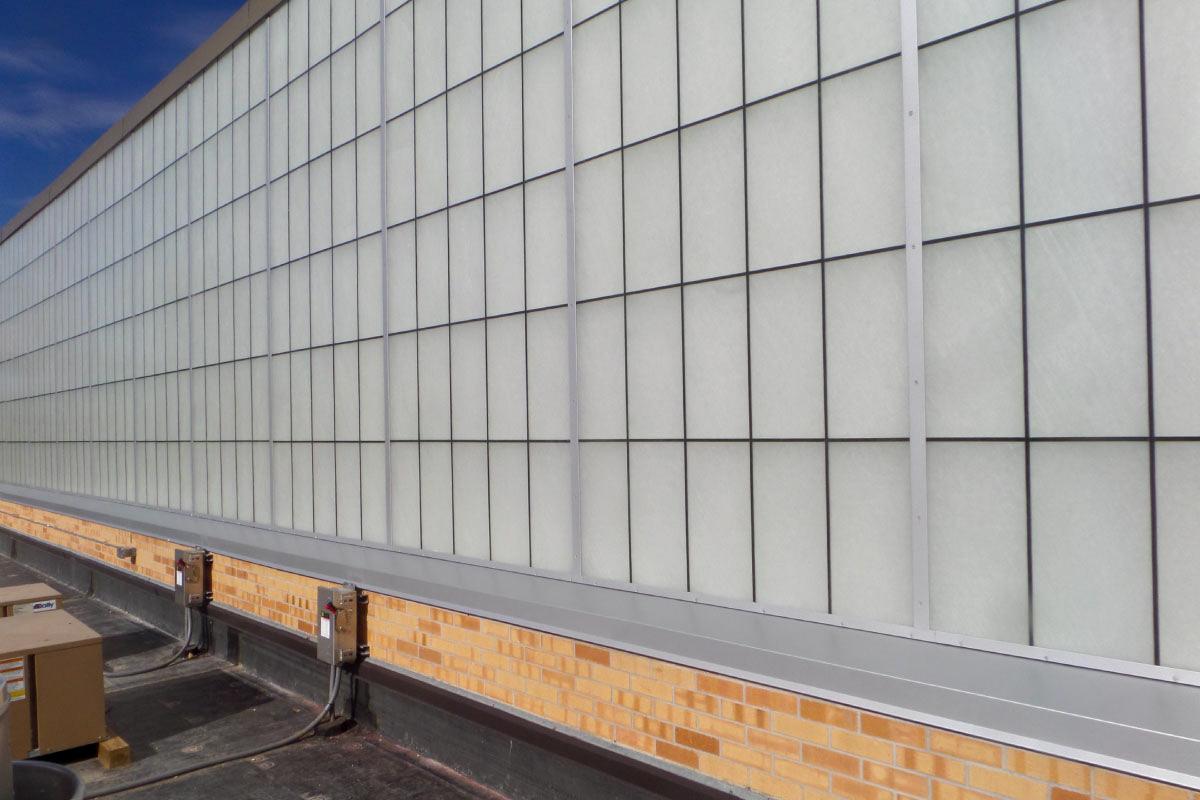 Creighton Prep Wall System